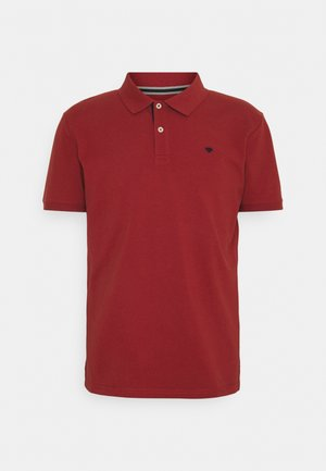 BASIC WITH CONTRAST - Polo shirt - chili oil red