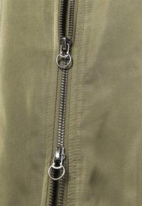 ONLY - ONLNATALIE LONG BOMBER - Klassinen takki - kalamata - 2