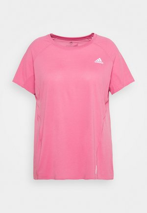 ADI RUNNER TEE - T-shirts - rose tone