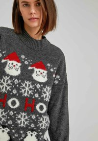 DeFacto - CHRISTMAS JUMPER - Jumper - anthracite - 3