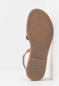 Geox - KARLY GIRL - Sandals - black/platinum - 5