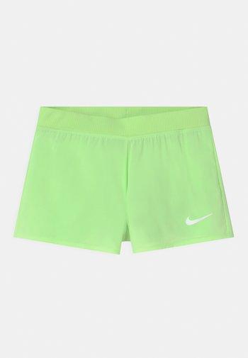 Sports shorts - lime glow/white