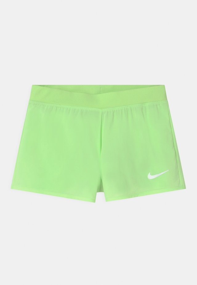 Sports shorts - lime glow/white