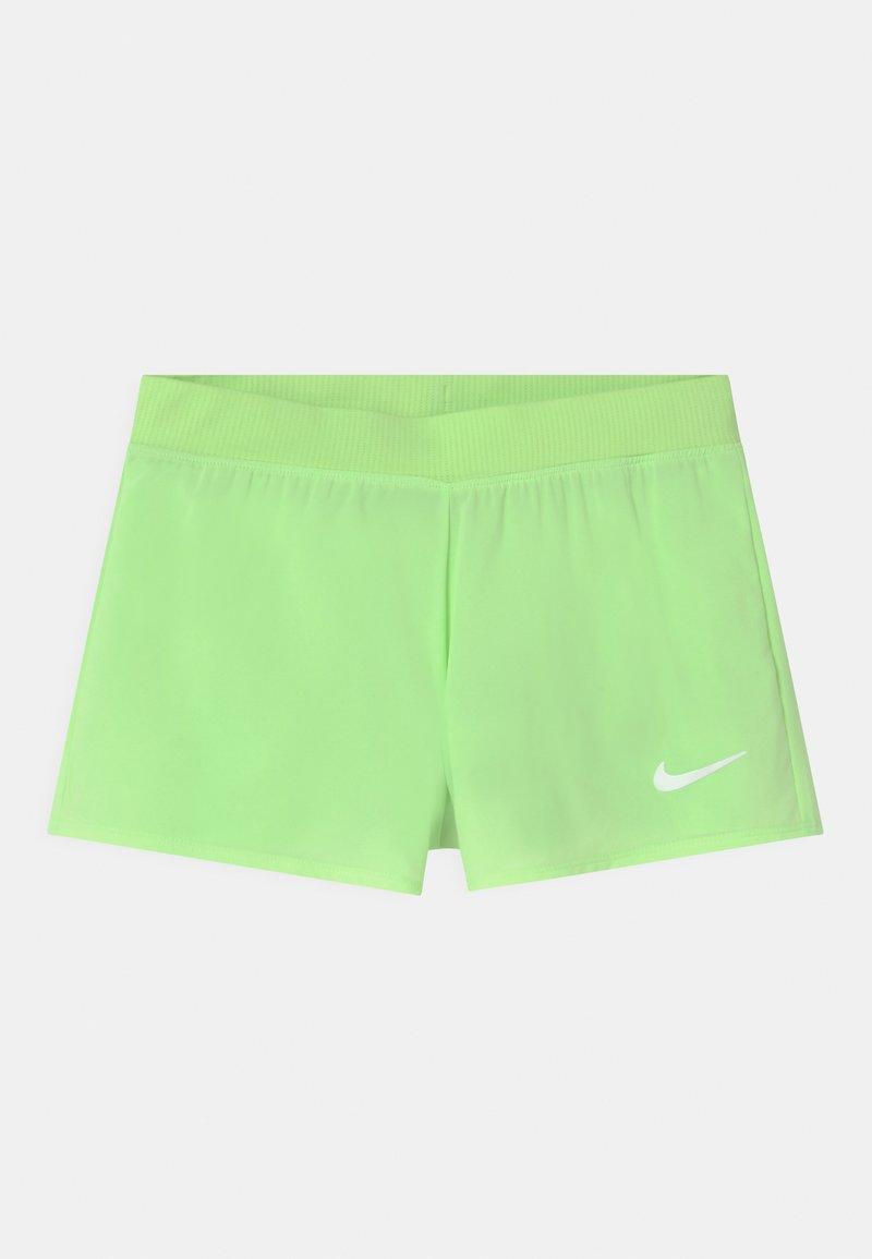 Nike Performance - Sports shorts - lime glow/white