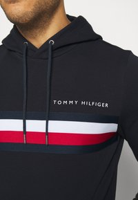 Tommy Hilfiger - LOGO HOODY - Sweat à capuche - blue - 5