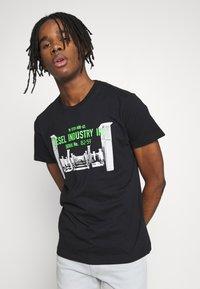 Diesel - DIEGO - T-shirt print - black - 0