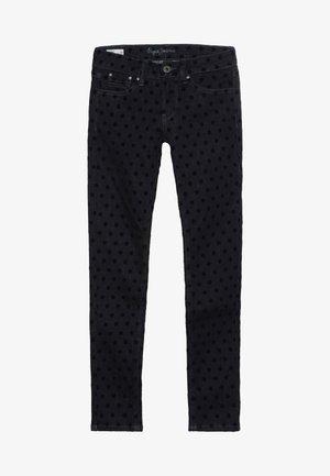 PIXLETTE FLOCK - Jeans Skinny Fit - denim
