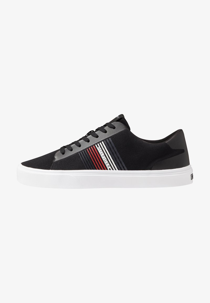 Tommy Hilfiger - LIGHTWEIGHT STRIPES - Trainers - black