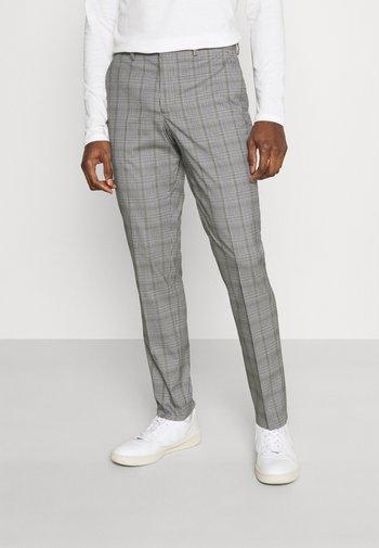 SLHSLIM KYLELOGAN - Kalhoty - light gray/multi