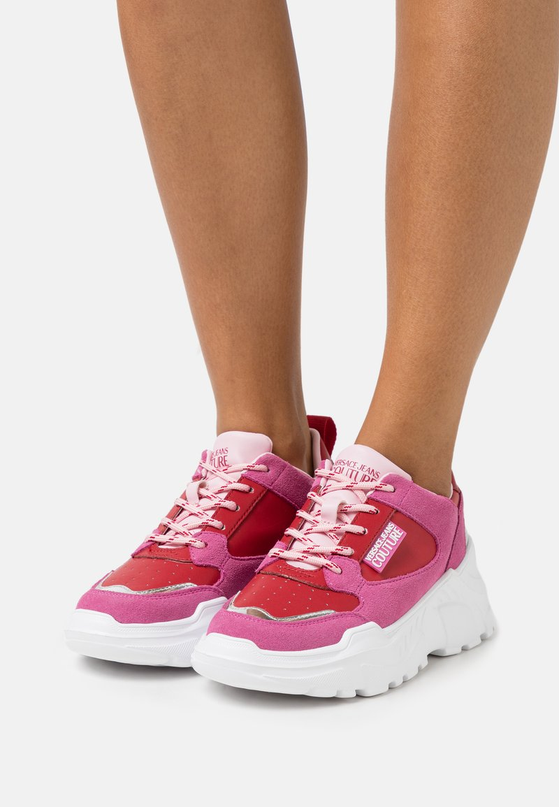 Versace Jeans Couture - Trainers - red/pink