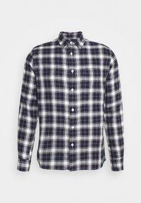 Burton Menswear London - LONG SLEEVE CHECK - Skjorta - navy - 3