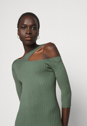 ABITO DRESS - Jumper dress - moss green