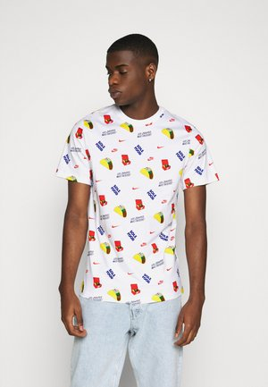 TEE FOOD - Print T-shirt - white
