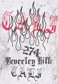 274 - BEVERLY HILLS TEE - Triko spotiskem - grey - 5