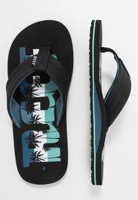 Reef - WATERS - Sandály s odděleným palcem - navy - 1
