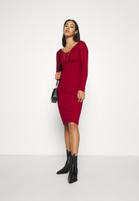 Even&Odd - JUMPER DRESS - Shift dress - red - 1
