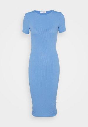 LUNA DRESS - Vestido de punto - blue