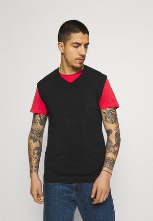 FREDDIE WAISTCOAT - Pullover - black