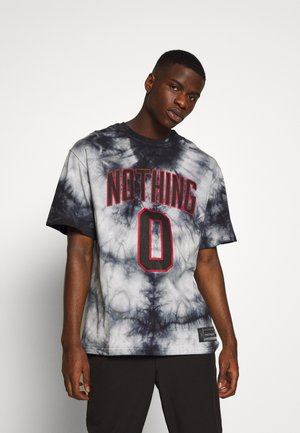 OVERSIZED TIE DYE NOTHING - Print T-shirt - multi-coloured