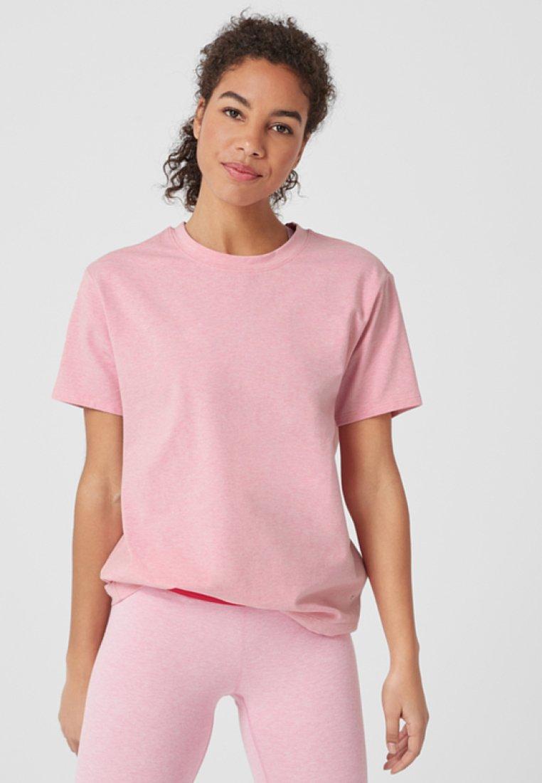 s.Oliver active - LOCKERES  - Print T-shirt - pink