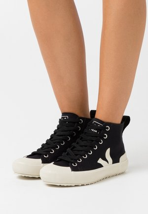 NOVA  - High-top trainers - black/pierre