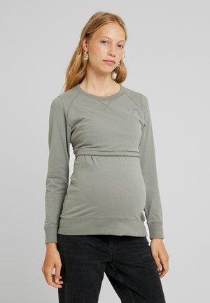 WARMER - Sweatshirt - sage