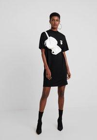 10DAYS - TURTLE NECK DRESS - Jersey dress - black - 1