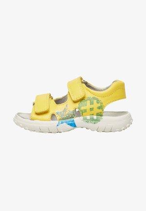 ADRAZO - Walking sandals - gelb