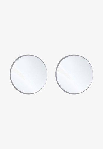 PLATE BASIC - Earrings - silver-coloured