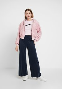 Topshop - ZIP HOODY - Veste légère - pink - 1