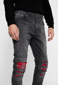 YOURTURN - Jeans Skinny Fit - black denim - 5