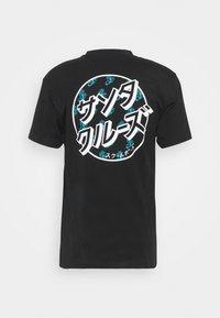 Santa Cruz - OFF HANDO DOT UNISEX  - T-shirt imprimé - black - 1