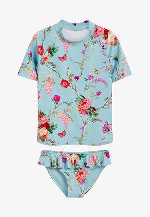 SUNSAFE SET - Swimsuit - blue