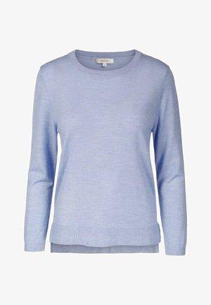 EVERYDAY SWEATER - Strikkegenser - light blue melange