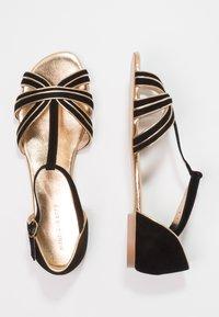 mint&berry - Sandals - black/gold - 2