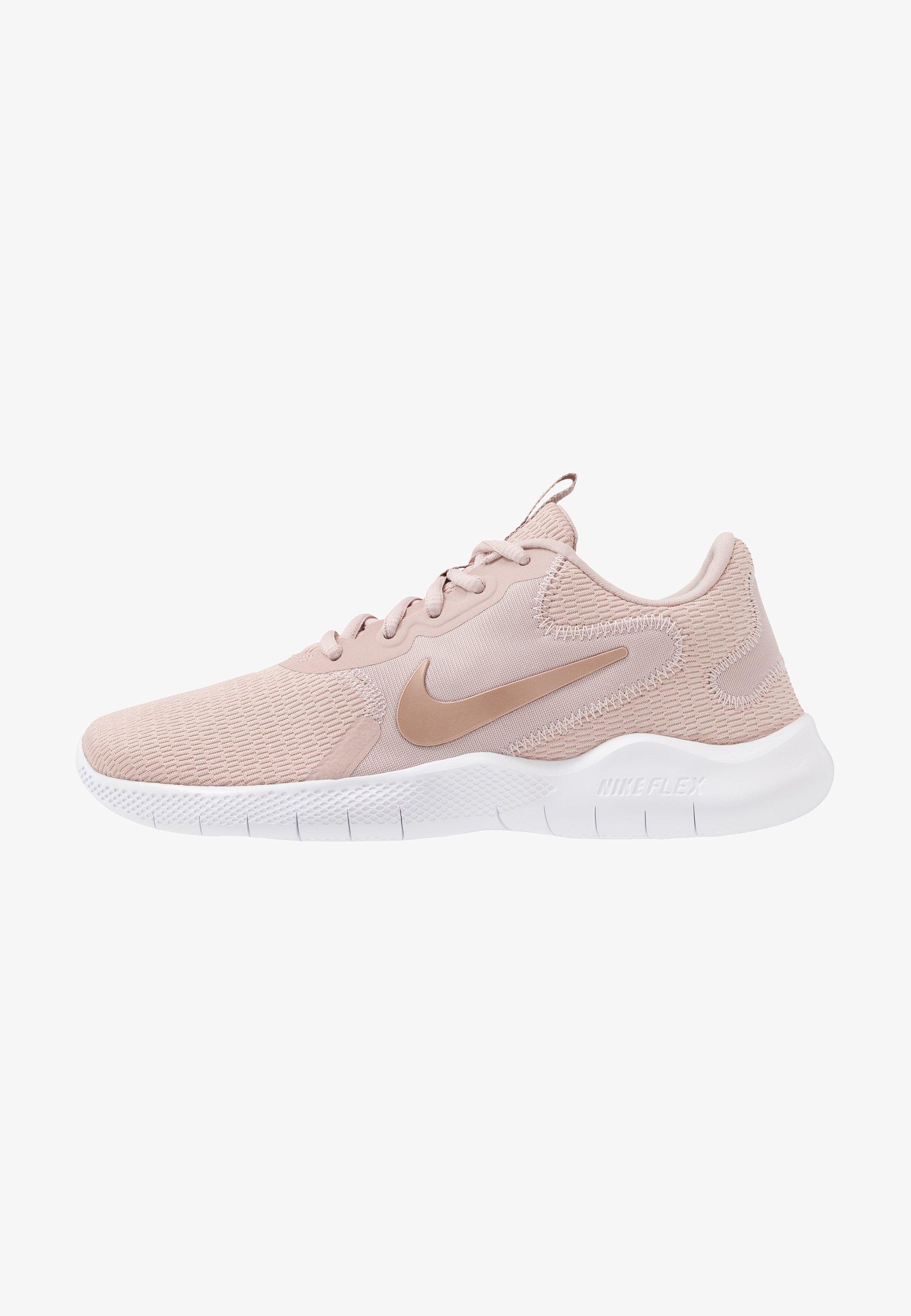 italiano Atar cine  Nike Performance FLEX EXPERIENCE RN - Neutral running shoes - stone  mauve/metallic silver/metallic red bronze/platinum tint/fossil stone/beige  - Zalando.co.uk