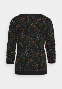TOM TAILOR DENIM - SWEATER WITH PRINT - Sweatshirt - black - 1