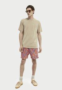 Scotch & Soda - Basic T-shirt - sand - 1