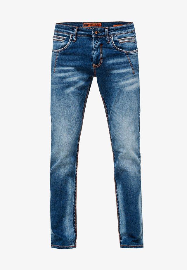 NEW YORK  - Straight leg jeans - blau