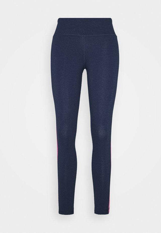 LINEAR LOGO LEGGING - Collants - dark blue