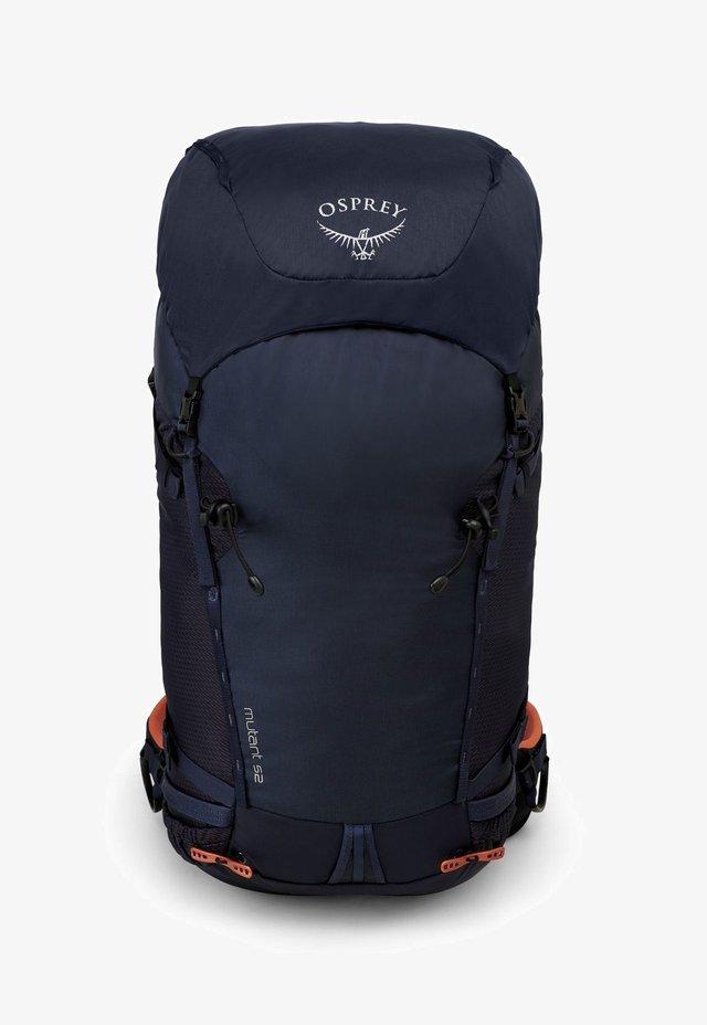 MUTANT - Hiking rucksack - blue fire