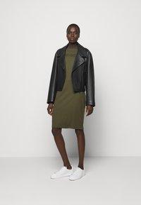 HUGO - DASSY - Jersey dress - beige/khaki - 1
