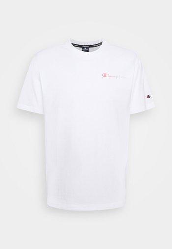 CREWNECK - T-shirt con stampa - white