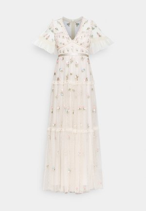 MADELINE DITSY SHORT SLEEVE GOWN - Occasion wear - champagne
