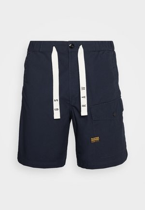FRONT POCKET SPORT SHORT - Shorts - pabe poplin - mazarine blue