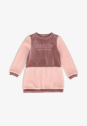 SMALL - Jumper dress - old pink