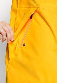 Didriksons - FOLKA - Waterproof jacket - saffron yellow - 4