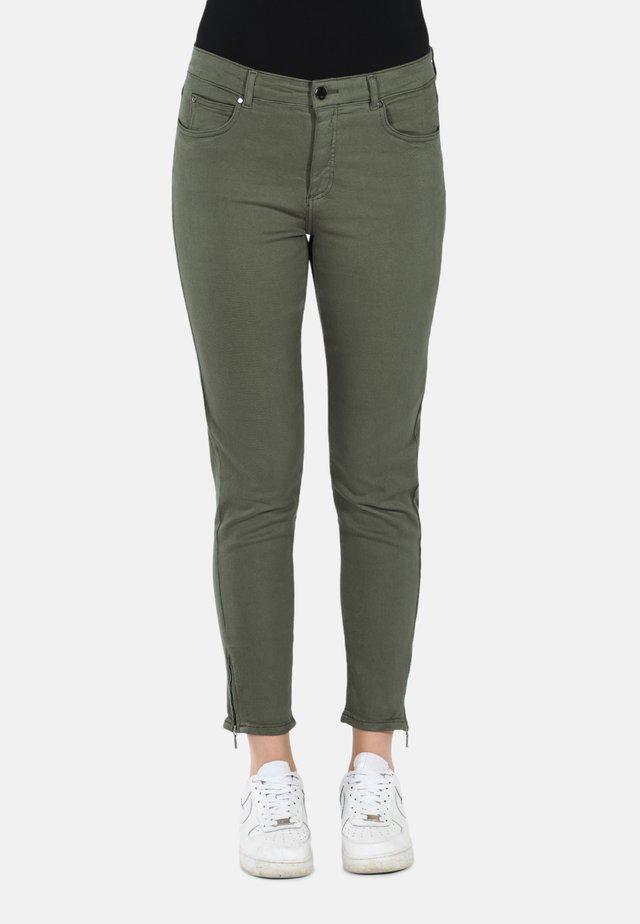 Slim fit jeans - army