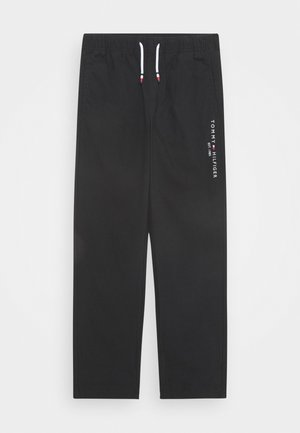 PULL ON PANTS - Stoffhose - black