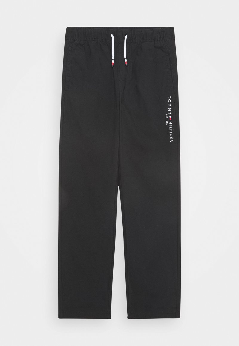 Tommy Hilfiger - PULL ON PANTS - Trousers - black